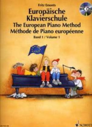 Méthode Européenne de Piano Volume 1 Fritz Emonts laflutedepan