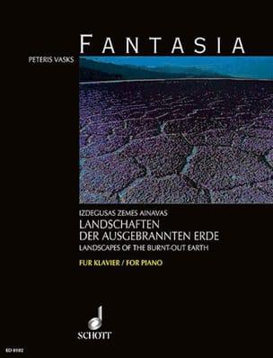 Fantasia Péteris Vasks Partition Piano - laflutedepan