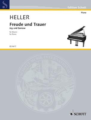 Freude und Trauer Barbara Heller Partition Piano - laflutedepan