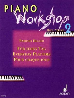 Für Jeden Tag. Vol 2 Barbara Heller Partition Piano - laflutedepan