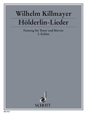 Hölderlin-Lieder (1982-85) Wilhelm Killmayer Partition laflutedepan