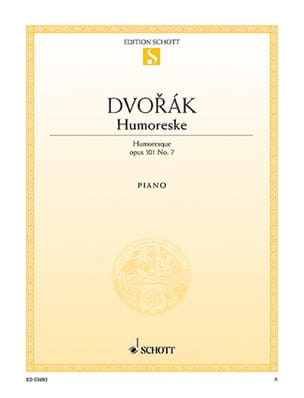 DVORAK - Humoreske Opus 101-7 - Sheet Music - di-arezzo.co.uk