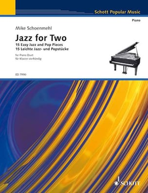 Mike Schoenmehl - Jazz For 2. Volume 1 - Partition - di-arezzo.fr