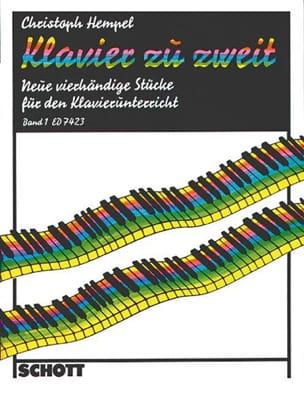 Christoph Hempel - Klavier zu zweit, Bd 1 - Partition - di-arezzo.fr