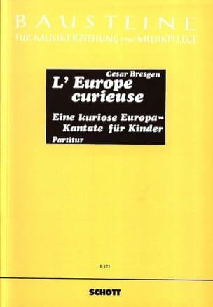 L'Europe curieuse Cesar Bresgen Livre Contes musicaux - laflutedepan