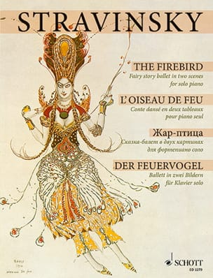 Igor Stravinski - The Firebird 1909/10 - Sheet Music - di-arezzo.co.uk