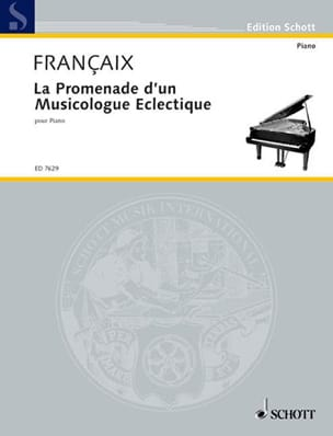 Jean Françaix - The Promenade of an Eclectic Musicologist 1987 - Sheet Music - di-arezzo.com