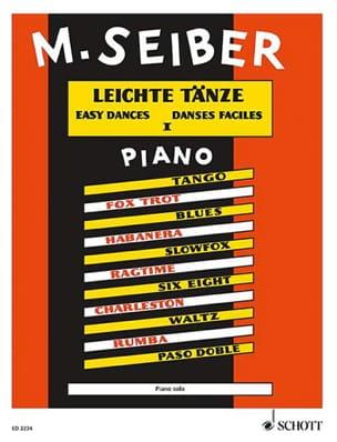 Matyas Seiber - Leichte Tänze Bd 1 - Partitura - di-arezzo.es