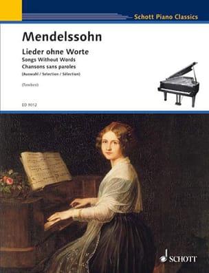 Lieder ohne Worte (sélection) - MENDELSSOHN - laflutedepan.com