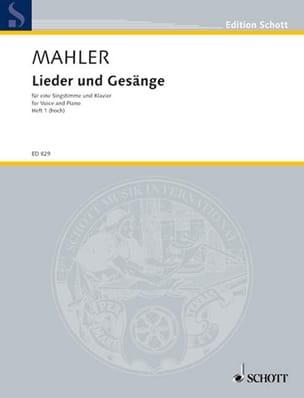 Gustav Mahler - Lieder UndGesängeVolume 1ハイ・ボイス - 楽譜 - di-arezzo.jp