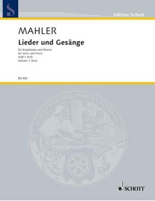 Lieder Und Gesänge Bd 1 Voix Grave - MAHLER - laflutedepan.com