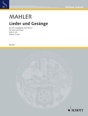 Lieder Und Gesänge Bd 2 Voix Grave - Gustav Mahler - laflutedepan.com