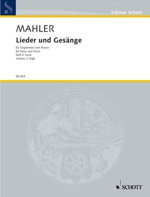 Lieder Und Gesänge Volume 3. Voix Haute - MAHLER - laflutedepan.com