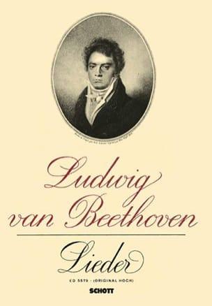 14 Lieder - BEETHOVEN - Partition - Mélodies - laflutedepan.com