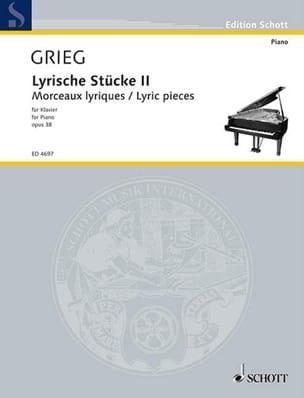 Lyrische Stücke Volume 2 Opus 38 - Edward Grieg - laflutedepan.com
