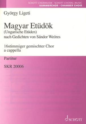 Magyar Etüdök - György Ligeti - Partition - Chœur - laflutedepan.com