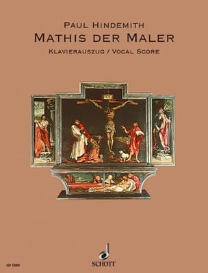 Paul Hindemith - Mathis der Maler - Partition - di-arezzo.co.uk