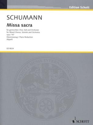 Missa Sacra, op. 147 - Robert Schumann - Partition - laflutedepan.com
