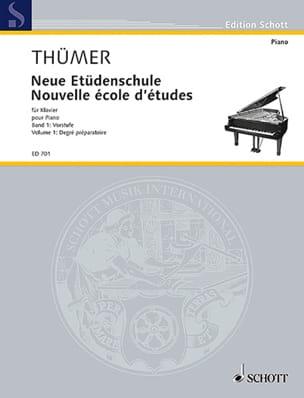 Neue Etüdenschule, Bd. 1 - Otto Thümer - Partition - laflutedepan.com