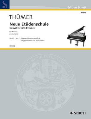 Neue Etüdenschule, Bd. 3 - Otto Thümer - Partition - laflutedepan.com