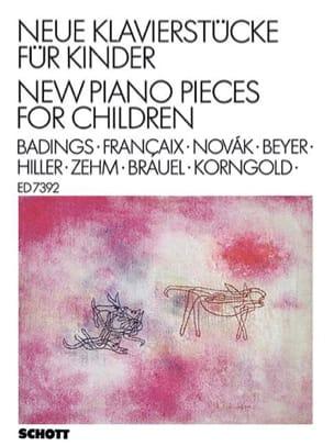 - Neue Klavierstücke für Kinder - Partition - di-arezzo.fr