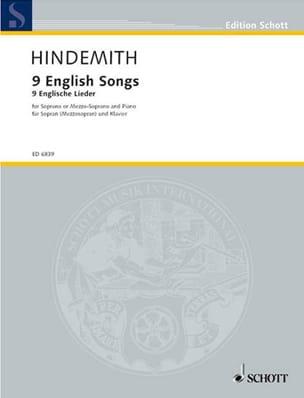 9 English Songs 1942-44 - Paul Hindemith - laflutedepan.com