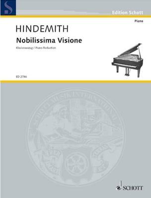 Noblissima Visione 1938 - HINDEMITH - Partition - laflutedepan.com