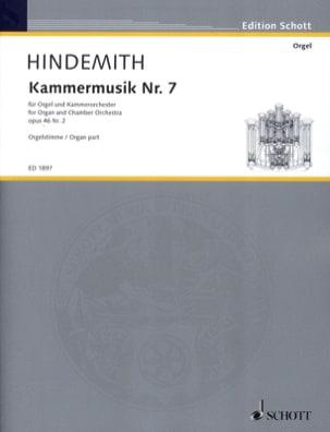 Kammermusik Nr. 7 Op. 46-2 - Paul Hindemith - laflutedepan.com