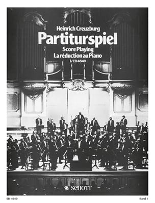Heinrich Creuzburg - Partiturspiel, Bd 1 - Sheet Music - di-arezzo.co.uk