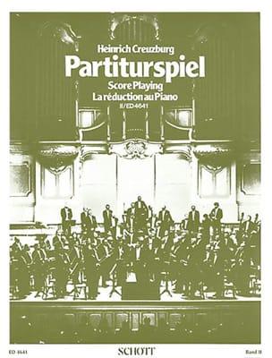 Heinrich Creuzburg - Partiturspiel, Bd 2 - Partition - di-arezzo.fr