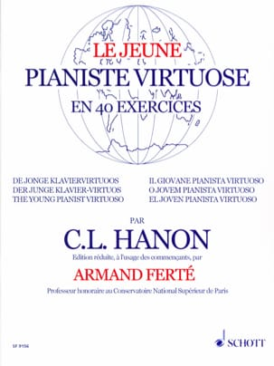 HANON - The Young Virtuoso Pianist - Sheet Music - di-arezzo.com