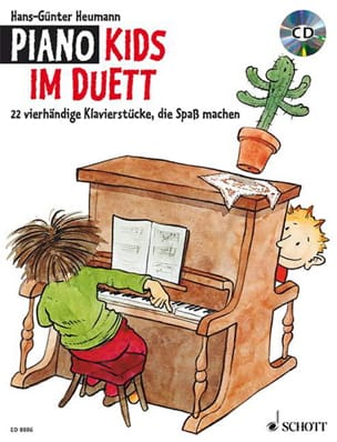 Piano Kids Im Duett. 4 Mains Partition Piano - laflutedepan