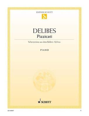 Pizzicati - Léo Delibes - Partition - Piano - laflutedepan.com