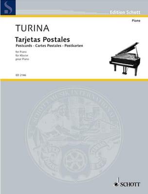 Cartes Postales - Joaquin Turina - Partition - laflutedepan.com