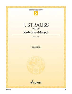 Radetzky-Marsch, Opus 228 Johann Père Strauss Partition laflutedepan