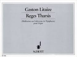 Reges Tharsis Gaston Litaize Partition Orgue - laflutedepan