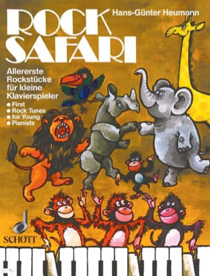 Hans-Günter Heumann - Rock Safari - Sheet Music - di-arezzo.co.uk