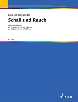 Schall Und Rauch. Soprano - Friedrich Hollaender - laflutedepan.com