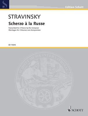 Igor Stravinski - Scherzo To the Russian. 2 Pianos - Sheet Music - di-arezzo.com