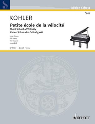 La Petite Vélocité Opus 242 - Louis Köhler - laflutedepan.com