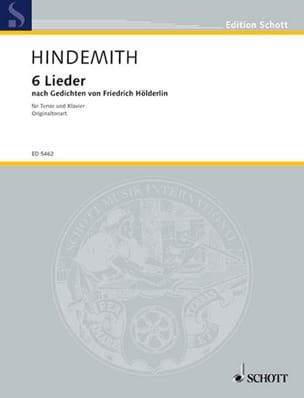6 Lieder D'après Hölderlin Voix Haute - laflutedepan.com