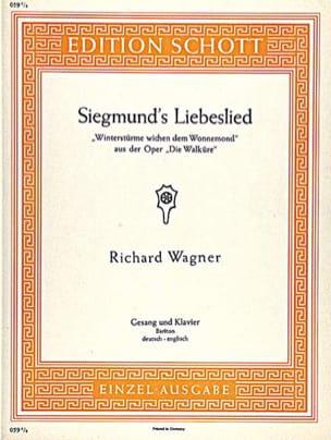 Siegmund's Liebeslied. Walküre - Richard Wagner - laflutedepan.com