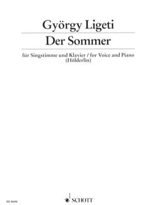 Der Sommer - György Ligeti - Partition - Mélodies - laflutedepan.com