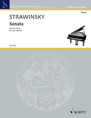 Sonate 1943/44. 2 Pianos - Igor Stravinski - laflutedepan.com