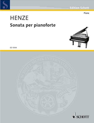 Sonate 1959 Hans W Henze Partition Piano - laflutedepan