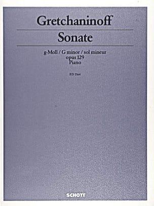 Sonate Sol Mineur Op. 129 - Alexandr Gretchaninov - laflutedepan.com