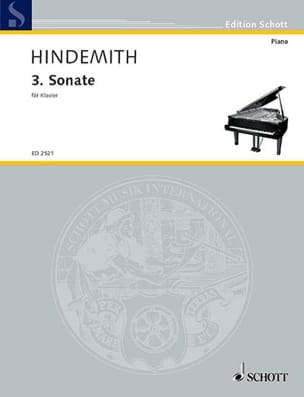 Sonate N°3 Paul Hindemith Partition Piano - laflutedepan