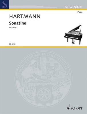Sonatine (1931) - Karl A Hartmann - Partition - laflutedepan.com
