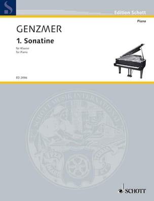 Harald Genzmer - Sonatine N ° 1 1940 - Sheet Music - di-arezzo.com