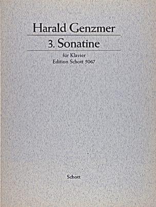 Sonatine N°3 (1959) - Harald Genzmer - Partition - laflutedepan.com